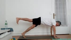 Gainage ventral dynamique jambes abdos